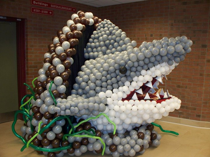 Shark Balloon Sculpture
