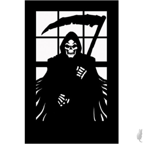 Scary Silhouette- Reaper