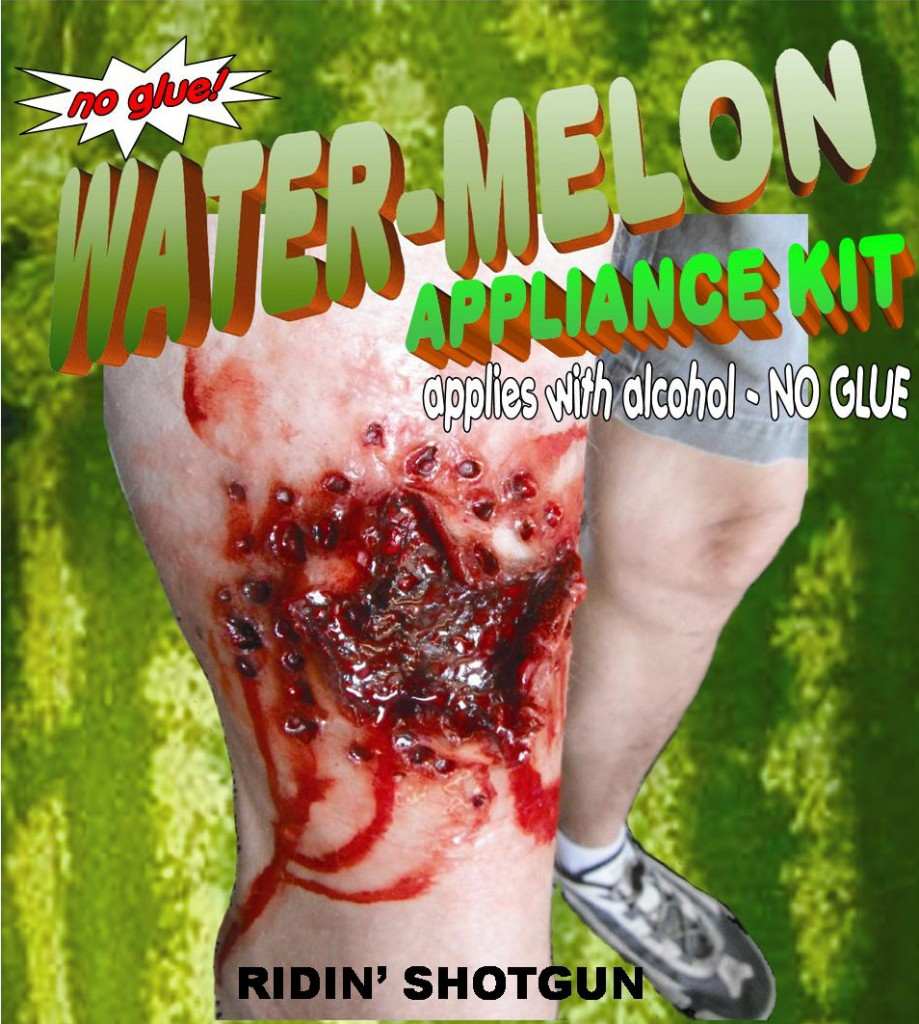 Shotgun Blast Water-Melon Appliance by Michael Davies