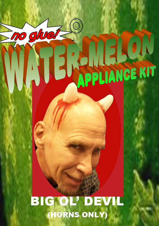 Big Ol' Devil Water-Melon Appliance by Michael Davies