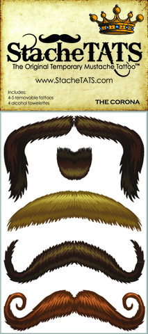 The Corona Set by Stache TATS