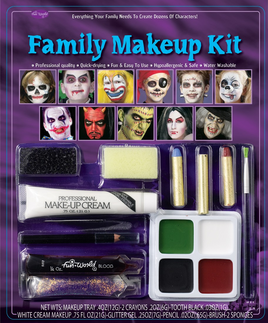 Halloween Make Up Kits For Everyone | McCullochs Costume and Party ...