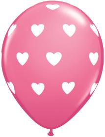 big hearts balloon
