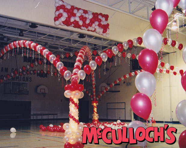Balloon Drop for Prom Dance in Lonon