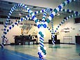 Balloon Decorating at Prom from McCullochs in London