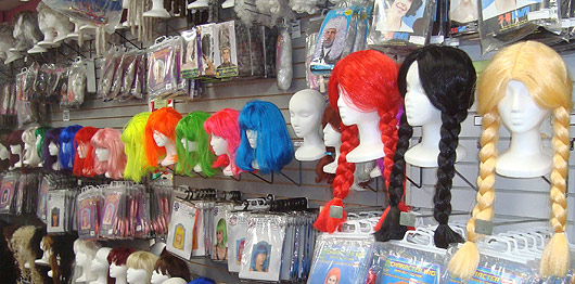 Wigs for Costumes in London