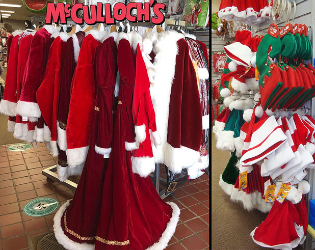 Santa costumes in London Ontario